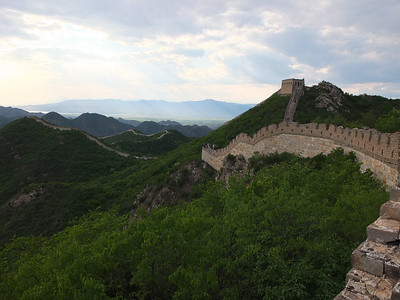 chen castle great wall hiking camping【June】