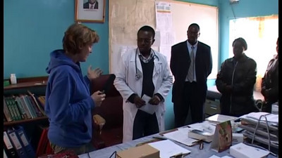 Hospital Management Interview with Peggy
