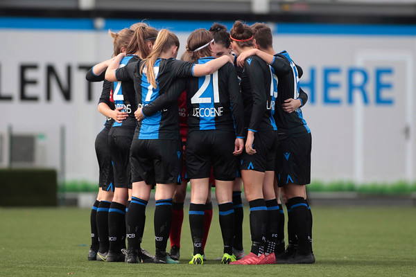 20191027 - Club Brugge Vrouwen - Standard De Liege