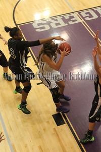 Basketball girls varsity game Dec 6 2013