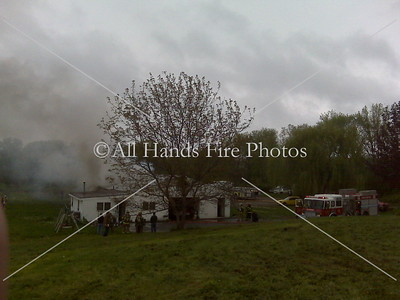 20090505 - New Hampton - Structure Fire