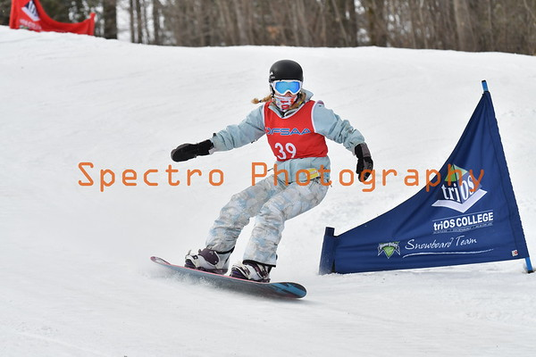 OFSAA Snowboarding 2017, Girls 2nd Run