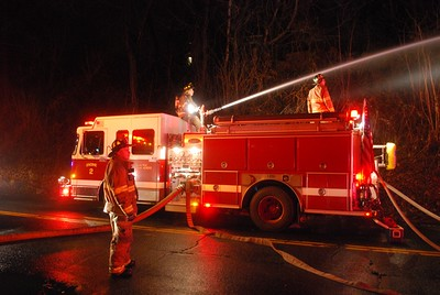 Structure Fire - Cook Ave - 1/11/14