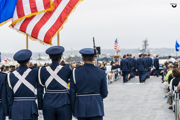 Airforce Graduation at USS Midway - May 2016
