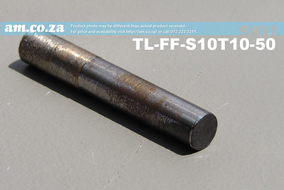 TL-FF-S10T10-50, 10mm Flat End Mill Granite Stone Router Bit with 10mm Fine Grit, Full Length ⩾50mm