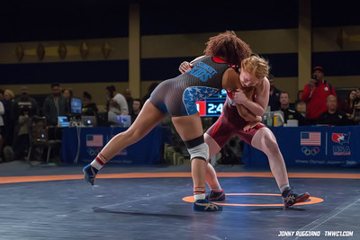 Senior Nationals Women's Freestyle and Greco 2016