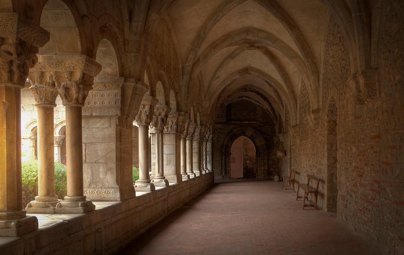 Elne cloister