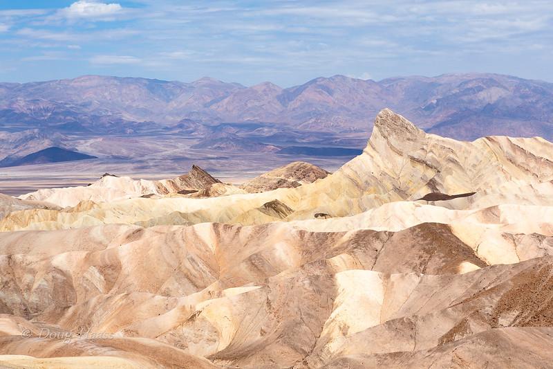 Zabriskie Point in Death Valley NP July 2018.