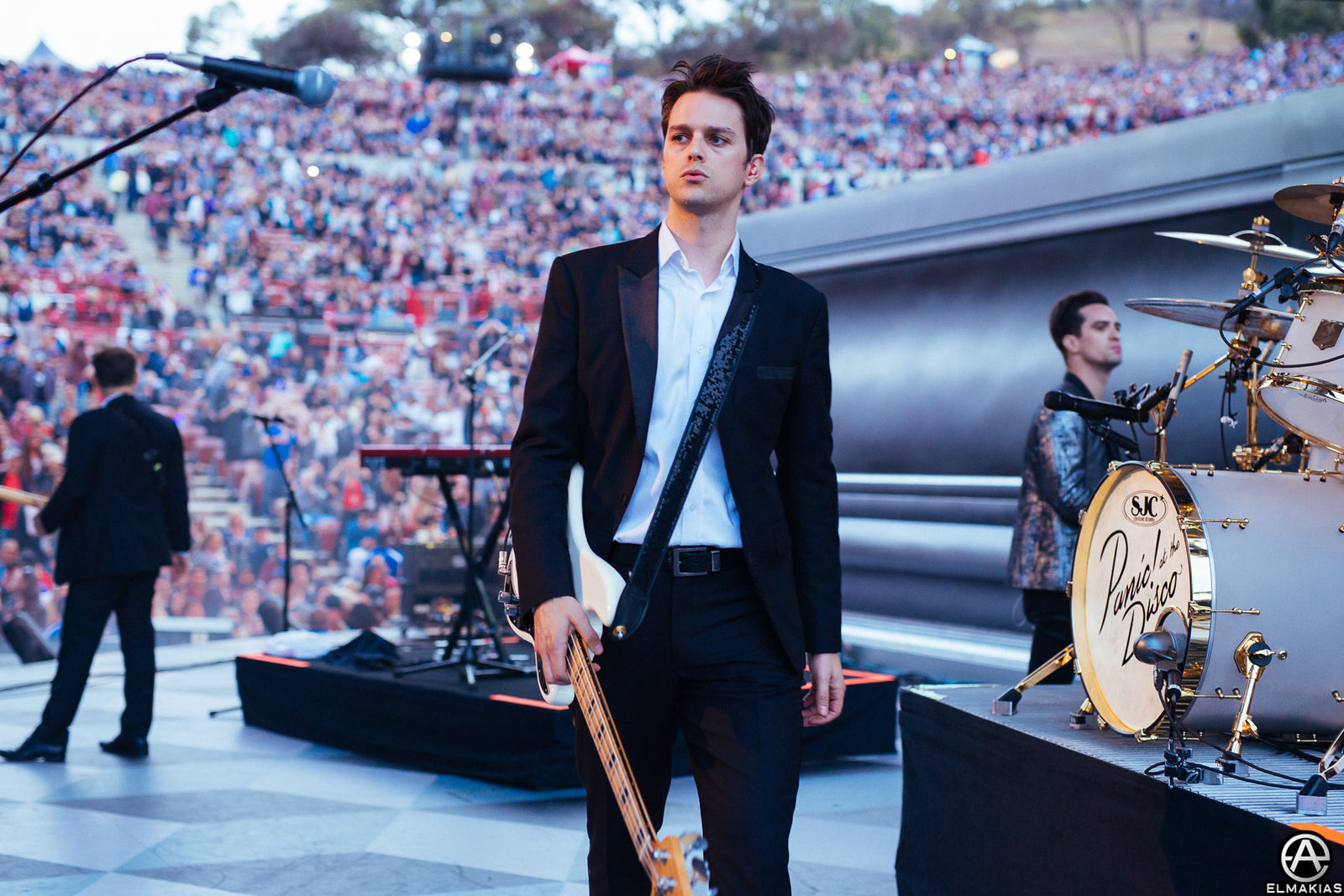 photo of Panic! At The Disco at Weenie Roast 2015 by Adam Elmakias