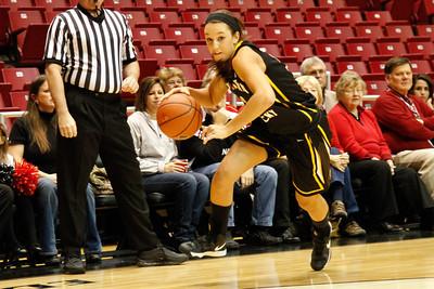 NKU Women's Basketball vs University of Cincinnati 11-9-2012