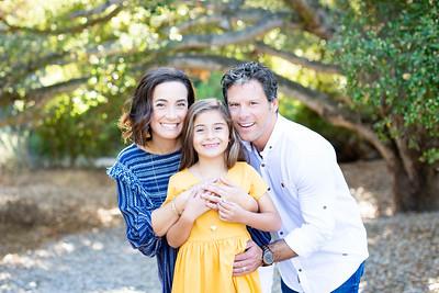 Marian Bear Park Fall Family Portrait Photographs - Carrasco October 2018