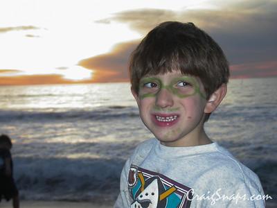 Ross at the Beach, Nov 2002