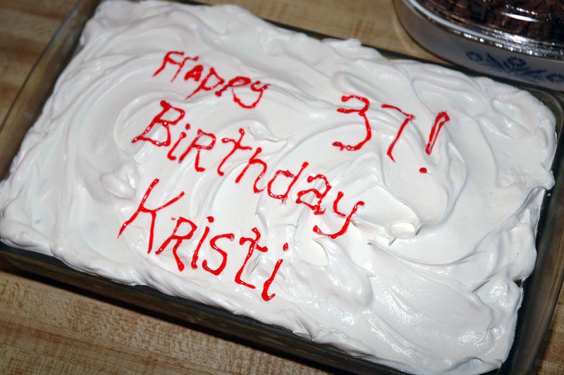 2005/11/06 - Kristi's 37th Birthday