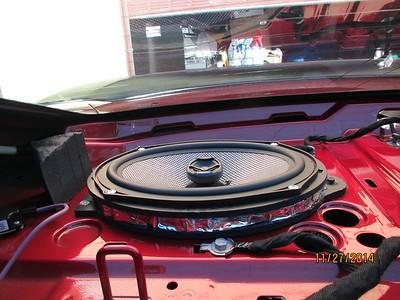 2014 Camaro SS Rear Deck Speaker Installation - USA