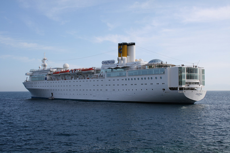 M/S COSTA MARINA offshore Capri.