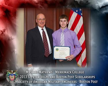 2013 Spring Meeting Scholarships