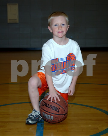 Marshall County 3 On 3 Basketball 1st & 2nd Grade Boys Kevin Riley Coach, November 24, 2009.