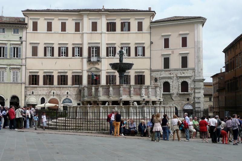 Fontana Maggiore. Perugia, Umbria
