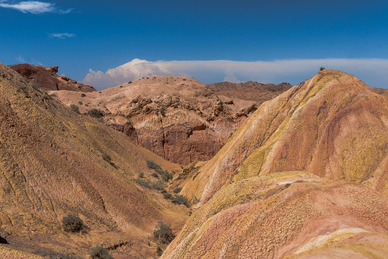 "The Skaza ""Fairytale Canyon""  hike  in South Shore of Lake Issyk-Kul."