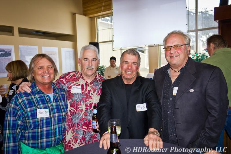Frank Kelbel, Roger Kliegerman, Chuck Roy, and Dave Clymo