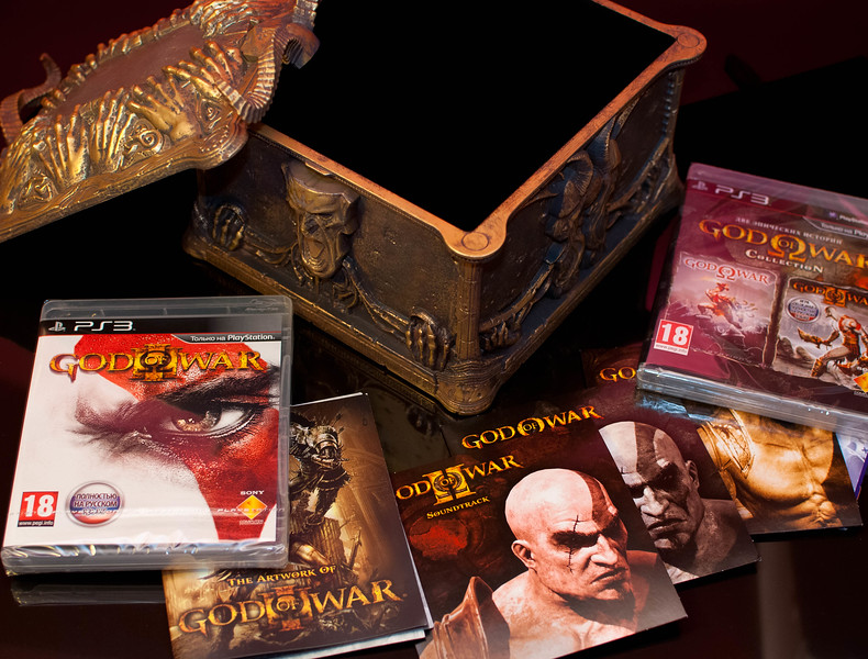 God of War III Ultimate Trilogy Edition