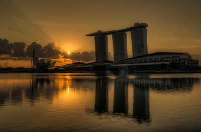 Marina Bay Sands Skypark Sunrise