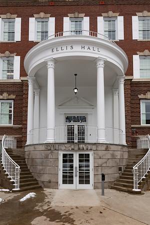 Ellis Hall Before/After