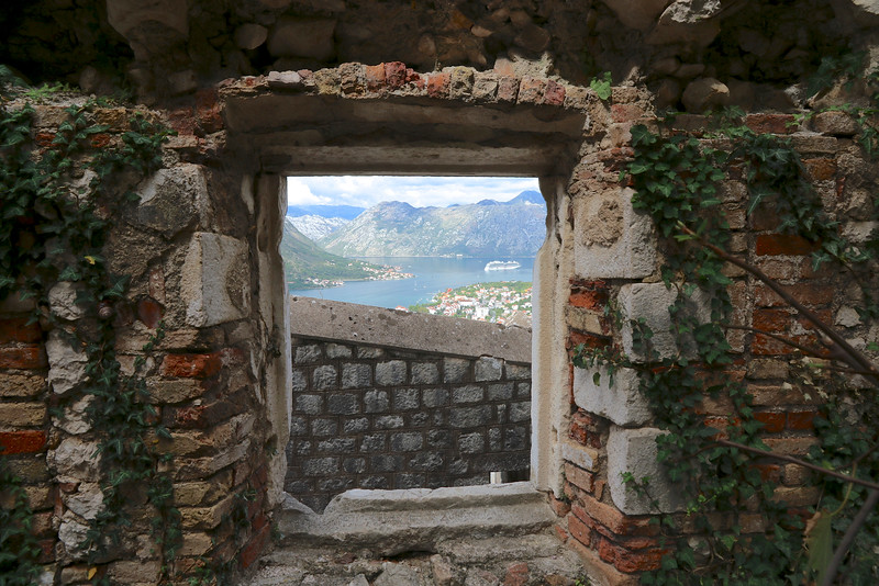 Views from St. John Fortress  -  Kotor, Montenegro