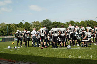 Nijmegen Pirates vs Alphen Eagles 2014