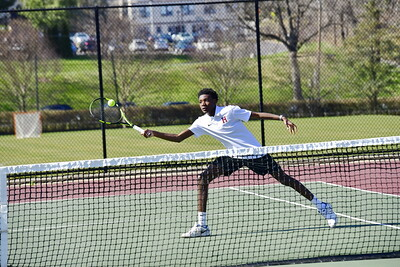 Varsity Tennis Action Shots
