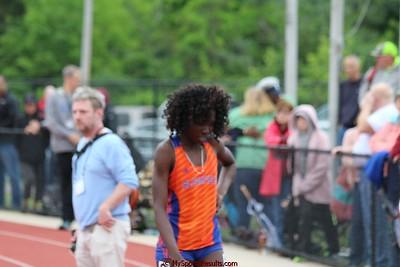 Girls 100m Hurdle Finals