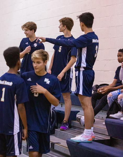 WR Boys Volleyball 2019