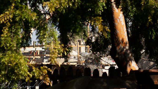 Disneyland Resort, Disneyland, Frontierland, Critter Country, Star Wars Land, Star Wars, Star, Wars, Construction, Rivers Of America, River, Rivers, America