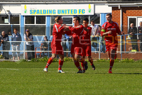 1st team v Spalding United (away) 18 - 04 - 15