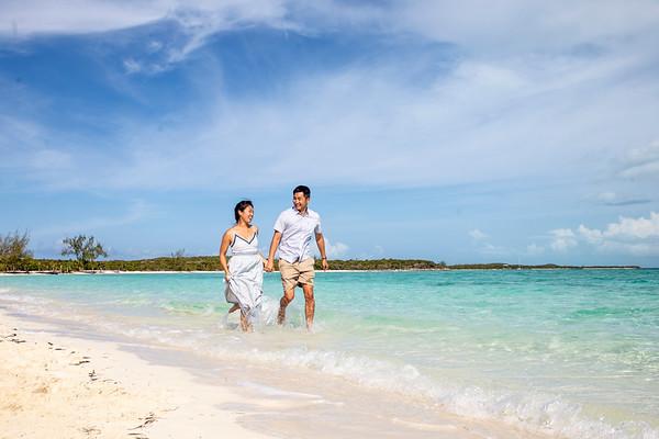 Anna's Beach Photography Session | Great Exuma, Bahamas