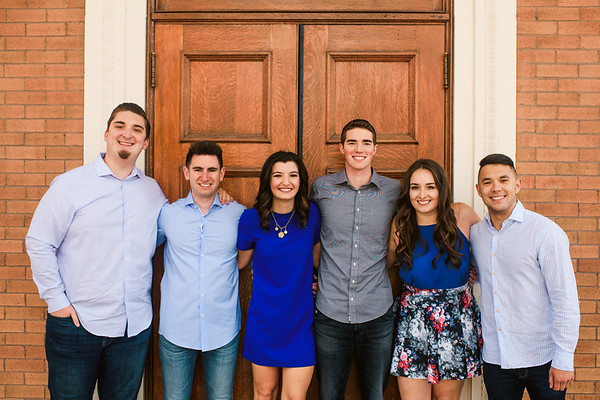 Jacob Fill and Group Senior Photos