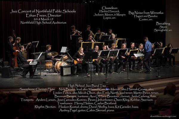 NHS Jazz Band 2018 March