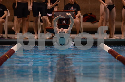 Dowling @ Fort Dodge Boys Swimming