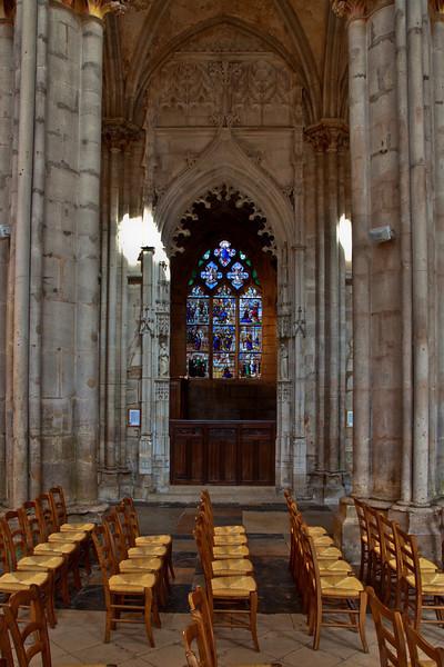 Semur-en-Auxois Collegiale, Saint Barbara Chapel