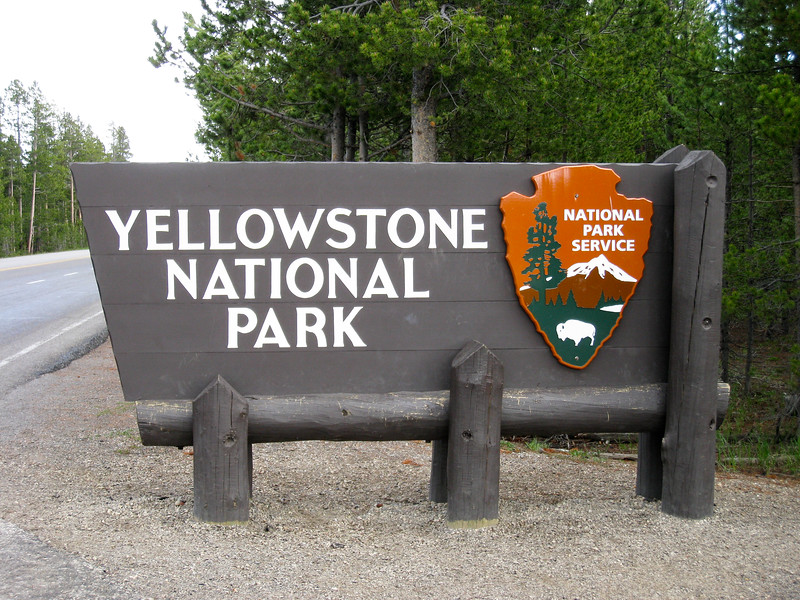 West entrance to Yellowstone