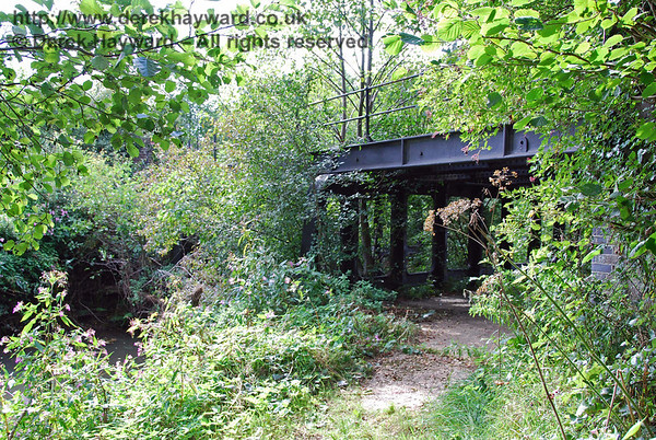 The disused Wealden Line from Little Horsted (Lavender Line) to Uckfield Old Station (Closed)