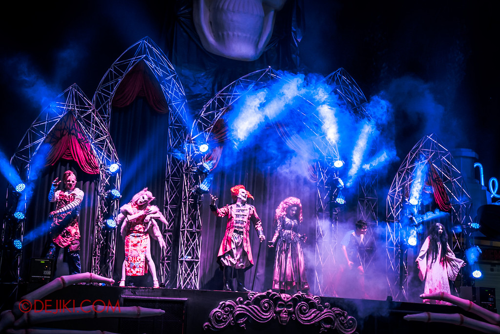 Halloween Horror Nights 6 - Opening Scaremony / Icons of this year's HHN6 attractions