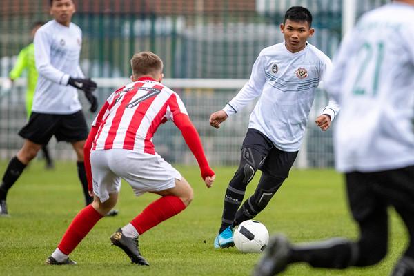 Garuda Select XI vs Cheltenham Town FC U18s - 11th Dec 2019