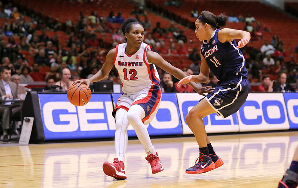 UH WBB vs UCONN 2014