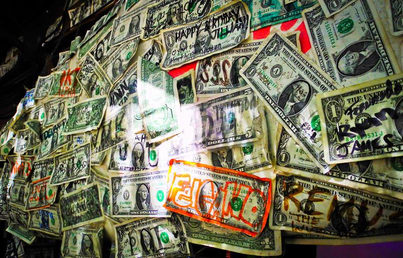 Key West Money Wall