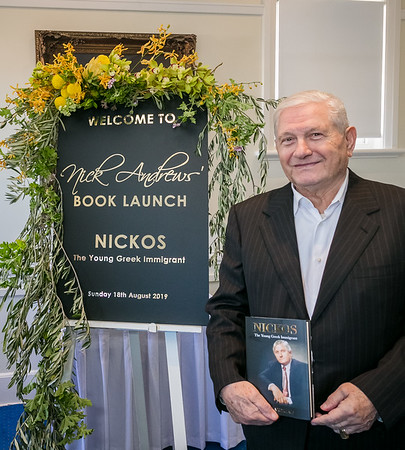 Nick Andrews Book Launch 2019