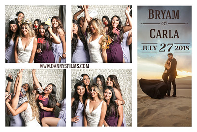 Bryam & Carla Wedding Photobooth