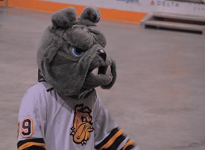 2011 04 13:  Bulldog Men Celebrate D1 Hockey Championship @ Amsoil Arena