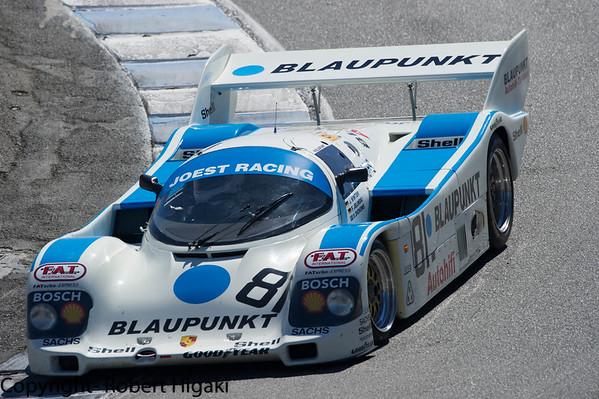 Racing at Monterey Motorsports Reunion