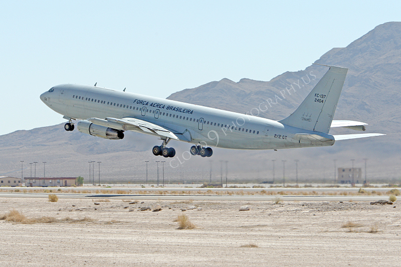 KC-137FORG 00002 Boeing KC-137 Stratotanker Brazilian Air Force 2404 Nellis AFB by  Peter J Mancus.JPG